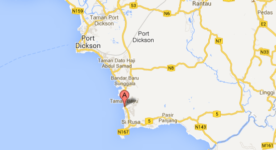 Map to Ancasa Allsuites Resort and Spa