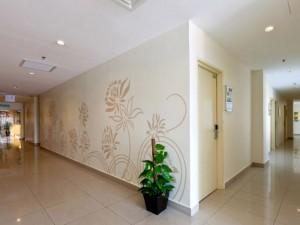 Walking area, Tune Hotel Kota Damansara