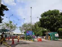 Entrance of Duta Bus Terminal