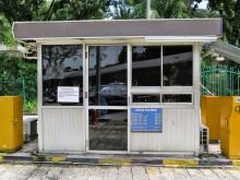 Parking payment booth, Duta Bus Terminal