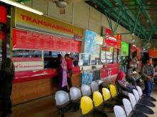 Ticket counters, Duta Bus Terminal