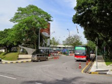 Entrance to Duta Bus Terminal