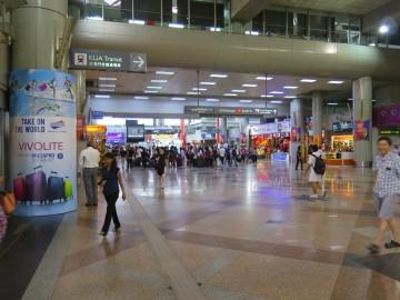 Main hall, Stesen Sentral Kuala Lumpur