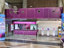 Ticketing counters, KLIA Transit station