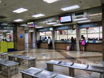 KTM Intercity ticketing hall, KL Sentral