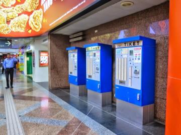 Ticketing machines for KTM Komuter