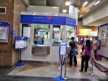 Ticket counter, KL Sentral LRT station