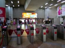 Ticketing machines, KL Sentral LRT station