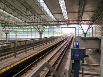 LRT Tracks, KL Sentral LRT station