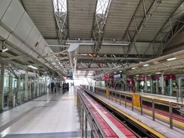 Platforms, KL Sentral LRT station