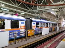 RapidKL LRT trains