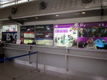Taxi ticket counters, KL Sentral