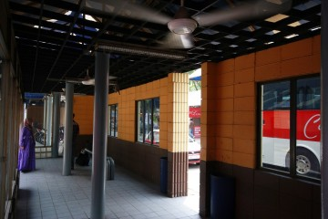 Waiting area, Pekeliling Bus Terminal