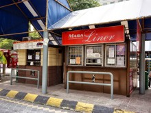 Mara Liner ticket counter, Pekeliling Bus Terminal