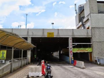 Entrance, Putra Bus Terminal