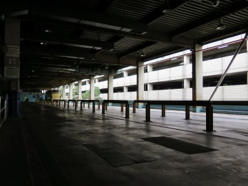 Bus waiting area, Putra Bus Terminal