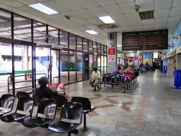 Ticket counters and waiting area, Putra Bus Terminal