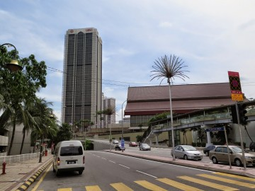 UMNO buildings near Putra Bus Terminal
