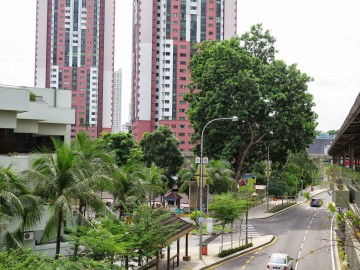 Hotel and condominium near Putra Bus Terminal