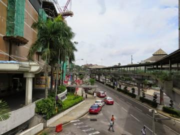 Pedestrian bridge near Putra Bus Terminal