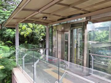 Lift, Pedestrian bridge near Putra Bus Terminal