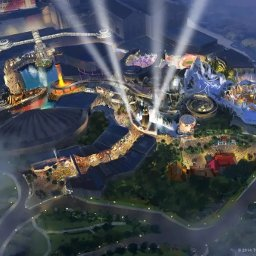 Twentieth Century Fox Theme Park in Genting Highlands, construction in progress, upcoming attraction in 2020