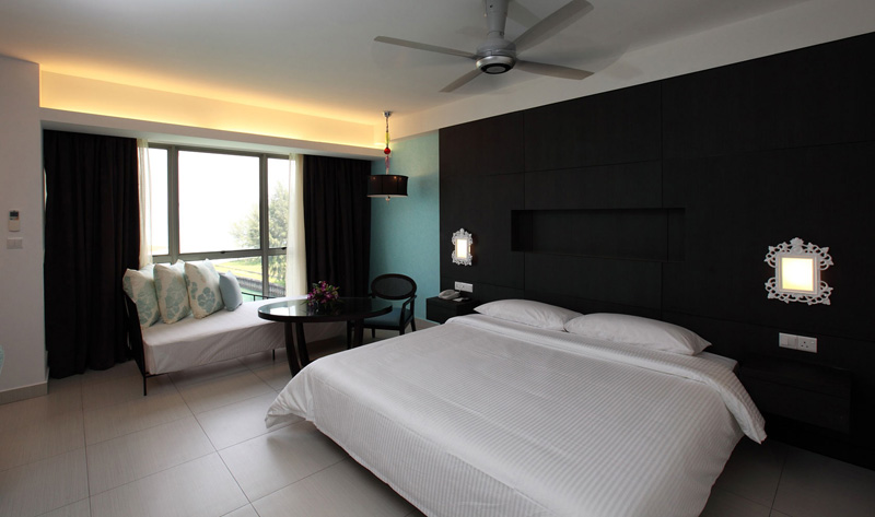 Executive suite, Vista Wing, Avillion Admiral Cove Hotel