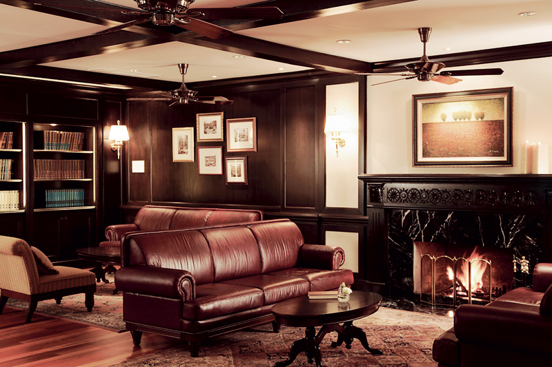 Reading room, Cameron Highlands Resort