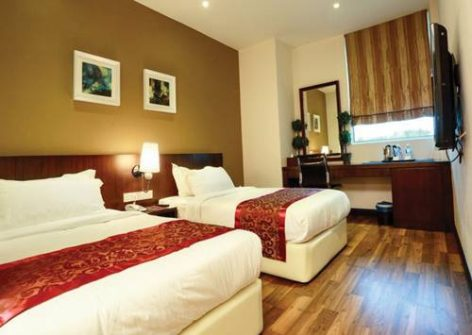 Twin room, D Boutique Hotel