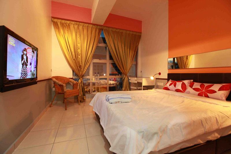Deluxe room, Langit-Langi Hotel