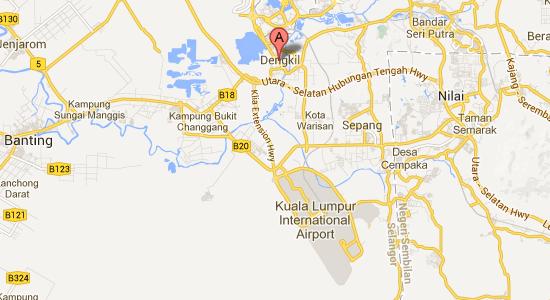 Map to Langit-Langi Hotel
