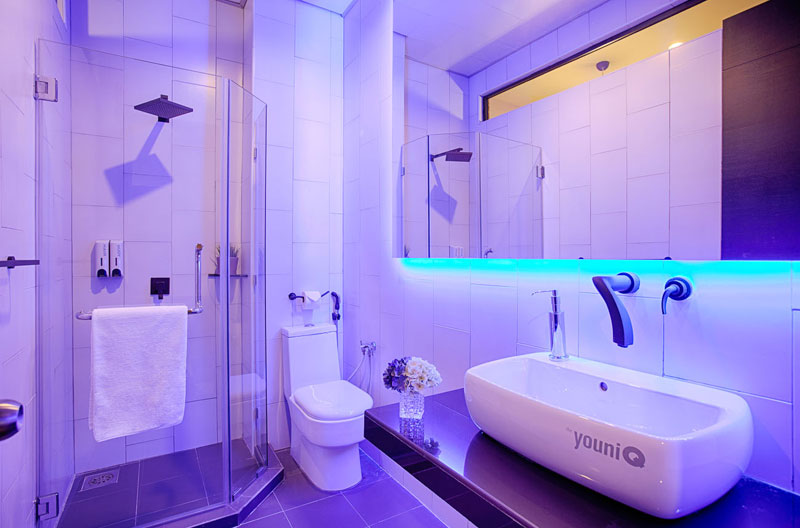 Bathroom, The YouniQ Hotel