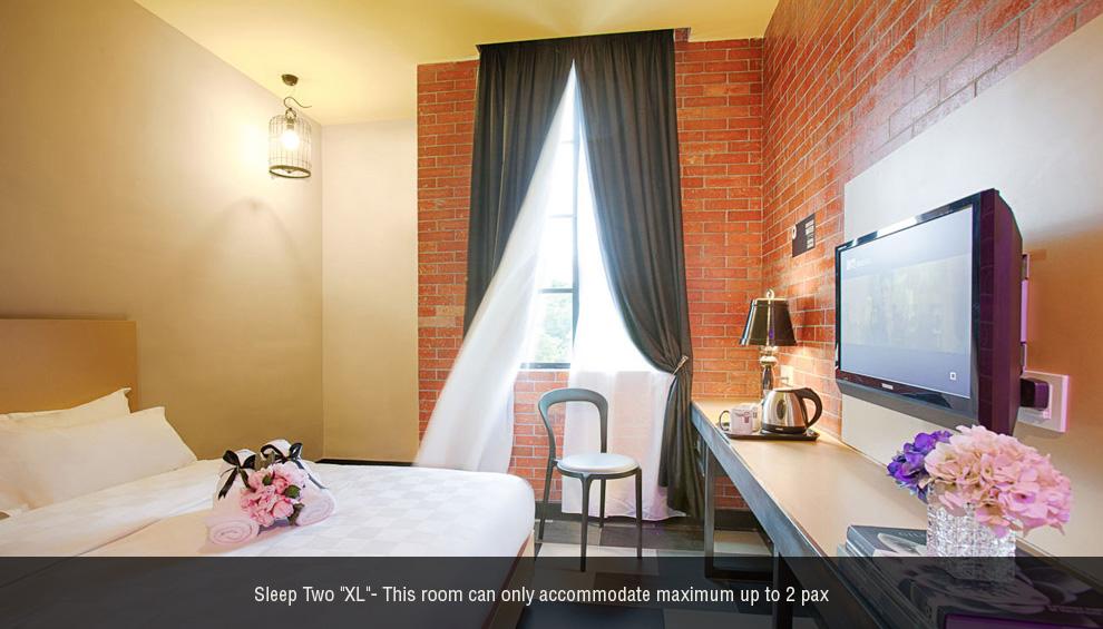 Sleep 2 XL room, The YouniQ Hotel