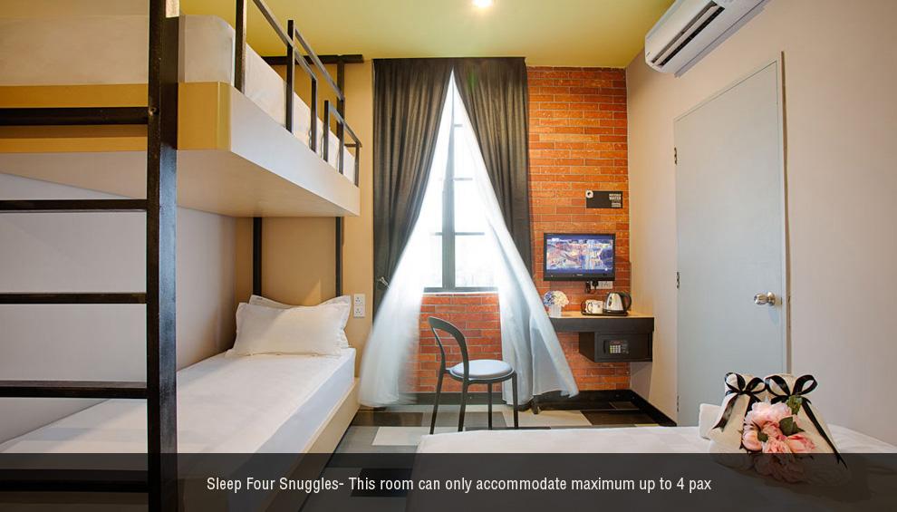 Sleep 4 Snuggles room, The YouniQ Hotel