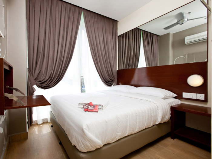 Tune Hotel Kota Damansara, Double room