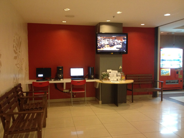 Internet Area, Tune Hotel Kota Damansara