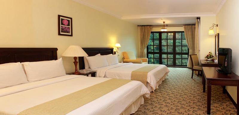 Deluxe Quad, Hotel De' La Ferns