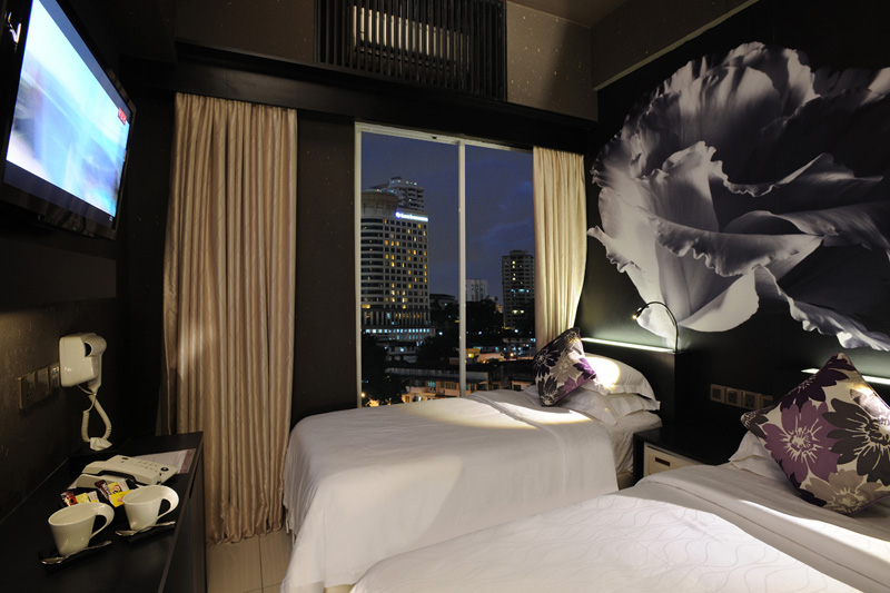 Deluxe Zen Twin, Le Apple Boutique Hotel