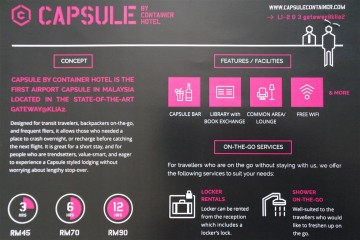 Instruction overview, Capsule by Container Hotel