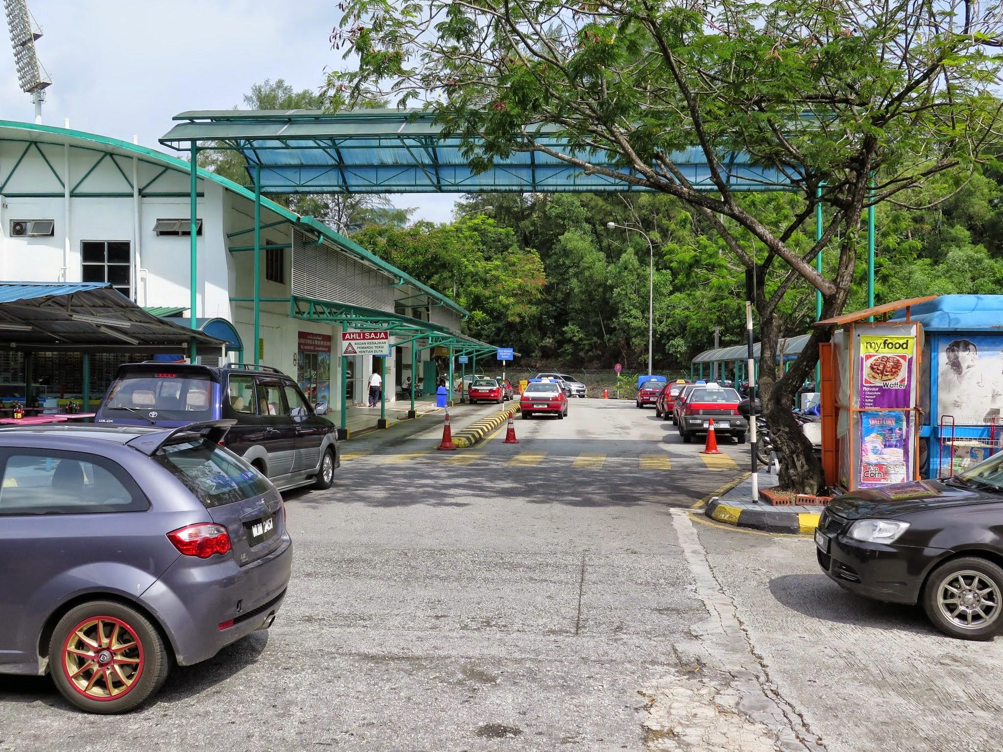 Taxi services, Duta Bus Terminal