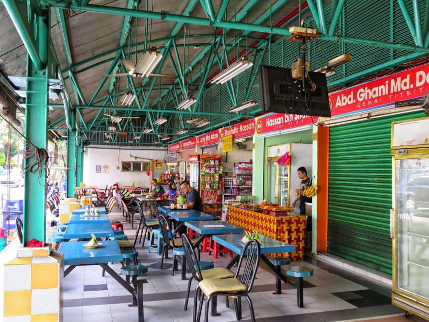 Food court, Duta Bus Terminal
