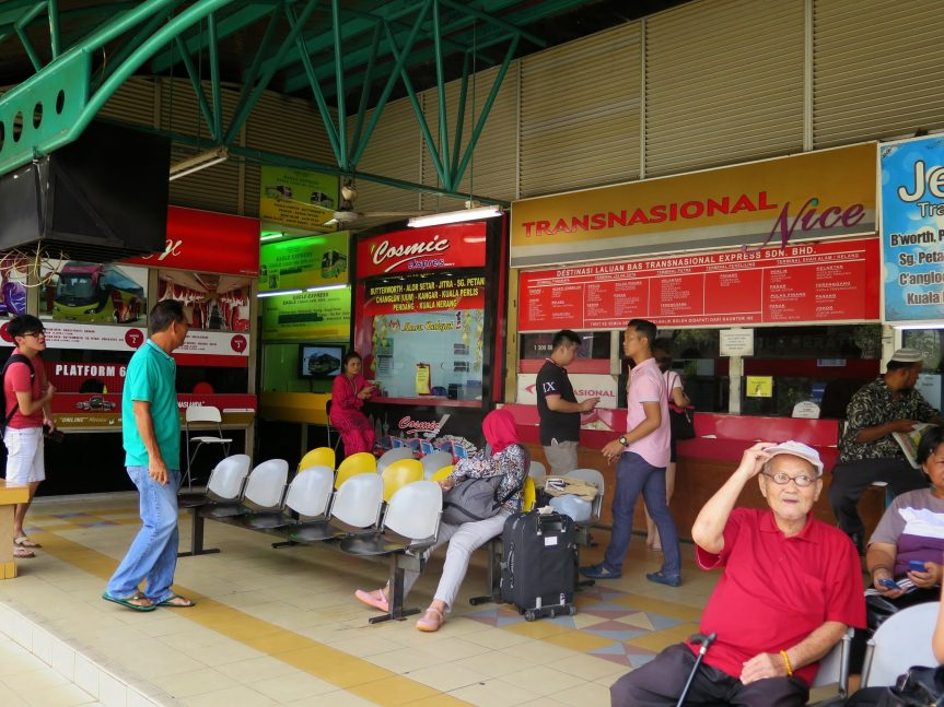 Ticket counters, Duta Bus Terminal