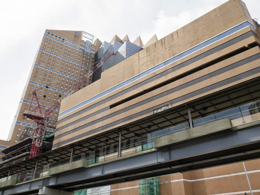 Sunway Putra Place under construction