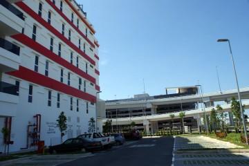 Car park area, Tune Hotel KLIA2