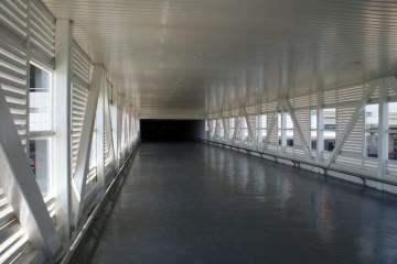 Covered walkway between Tune Hotel and KLIA2