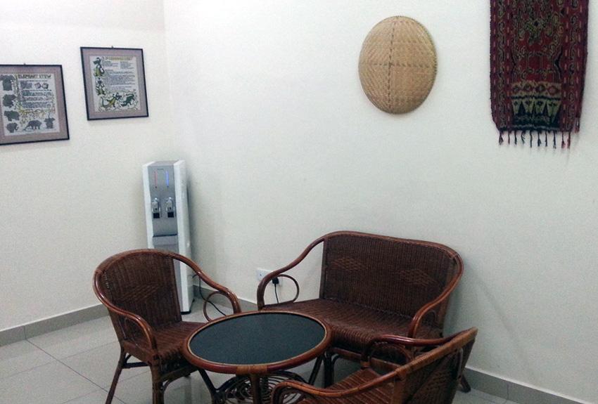 Dining area, Hotel Seri Raha