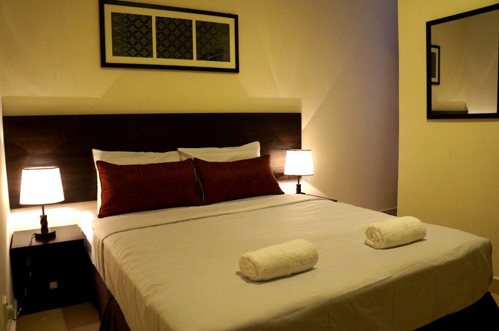 Queen Deluxe room, Hotel Seri Raha