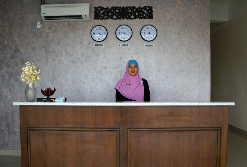 Reception, Hotel Seri Raha