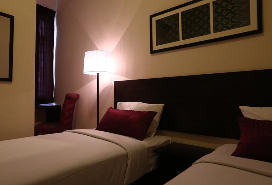 Twin Deluxe room, Hotel Seri Raha
