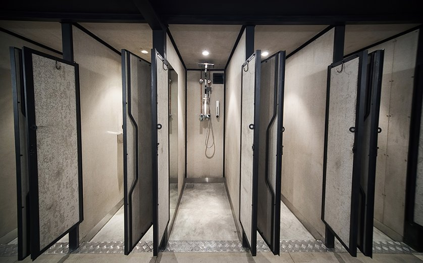 Bathrooms, Capsule by Container Hotel